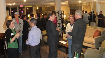Hillcrest Business Association mixer (Tuesday, February 22, 2011) at Lawrance Furniture