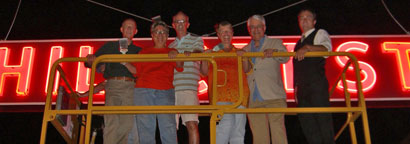 Hillcrest Business Assocation board members and director Benjamin Nicholls on Tuesday, August