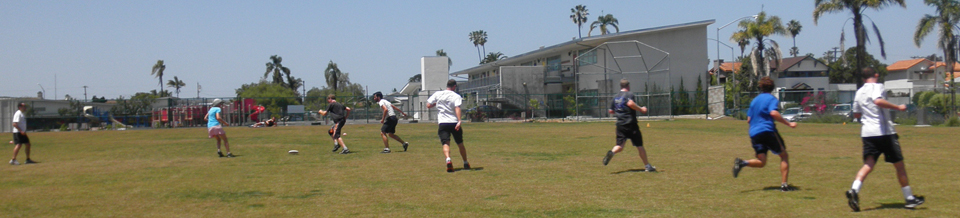 Recreation field in University Heights