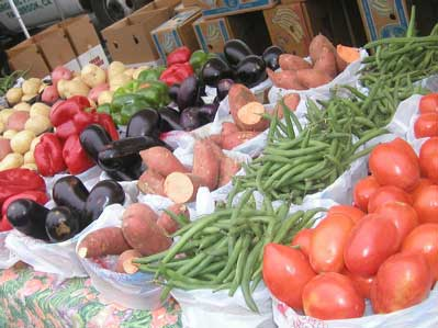 Vegetables at Hillcrest Farmers Market