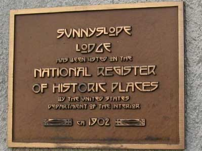 Sunnyslope Lodge