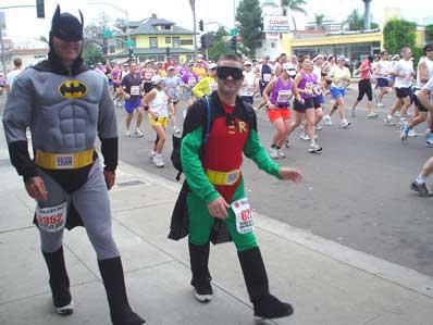 Batman & Robin in marathon